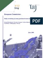 estudo europeu desporto