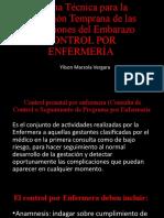 control prenatal por enfermeria