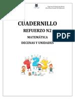 CUADERNILLO REFUERZO MATEMÁTICA