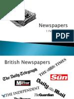 Newspapers Presentation