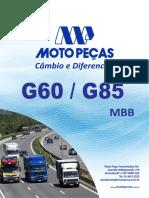 Catalogo de cambio G60,G80