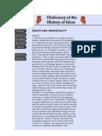 DEATH AND IMMORTALITY choron Encyclopedia