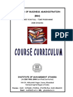 bba ccs university All Sem Syllabus