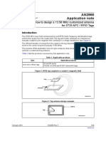 How to design antenna for RFID tags