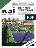 Nov Dec 2020 Racquet Sports Industry magazine