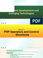 Main PDF 2 - PHP Operators and Control Structures.pdf