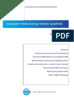 Raport trimestrial restructurare