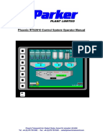 RTS2010 Parker Plant Operator Manual for Static Plant