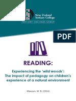 Mawson 2014 Wild woods