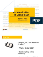 Introduction to Global SEO