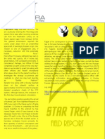 Funny star trek-style field report by DS students