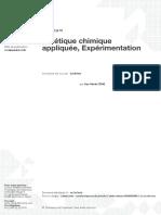 cinétique chimique appliquée Expérimentation.pdf