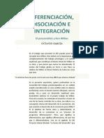 diferenciación disociación