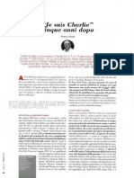 """Je suis Charlie"" cinque anni dopo, by Thierry Vissol, February 2020"