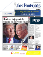 DIARIO LAS AMÉRICAS Edición semanal del 16 al 22 de octubre de 2020
