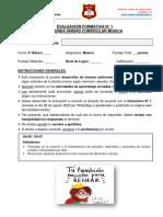 E. Formativa N° 1_Unidad II_Musica_6° Básico A-B