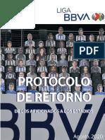 Protocolo de Regreso a Los Estadios