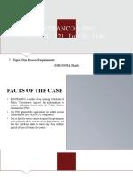 10. Pantranco v. PSC, 70 Phil. 221 KMU Labor Center v. Garcia, 239 SCRA 386