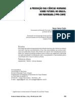 Texto 3 - A produção das ciências humanas sobre futebol no Brasil