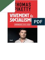 20201015   EBOOK Thomas Piketty - Vivement le socialisme !.pdf