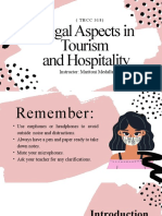 Legal Aspects Powerpoint