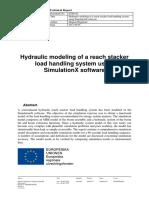 ETH1-02_Hydraulic modeling of a reach stacker