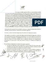 Auditorías CNE