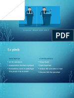 L'art du pitch