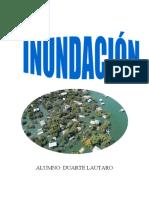 TRABAJOS INUNDACIÓN DESERTIZACIÓN
