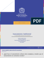 Diapositivas 2. Contexto global y planeación del saneamiento