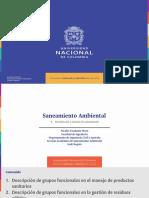 Diapositivas 6. Introducción a sistemas de saneamiento y gestión de residuos sólidos