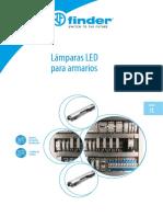 finder lampras panel LUMINARIAS S7LES