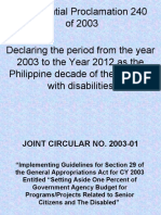 JOINT CIRCULAR NO. 2003-01