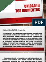 UNIDAD III COST Y PRES D PROY ELEC IEM