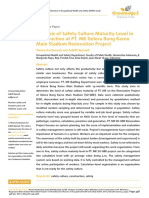 Analysis of Safety Culture Maturity Level in Construction at PT. MK Gelora Bung Karno Main Stadium Renovation Project.pdf