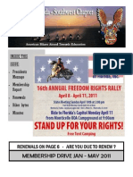 Southwest Chapter of ABATE of Florida February 2011 Newsletter
