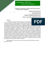 As Características Qualitativas Da Informação Contábil a Partir Da Percepção Dos Profissionais De Contabilidade