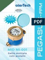 P-0000011 MEDIDOR PEGASUS WATERTECH