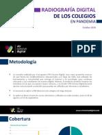 Estudio Radiografía Digital de Los Colegios OCT 2020