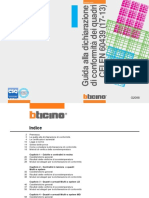 Guida Dichiarazione Conformità Quadri Elettrici BTicino (CEI 17-13)