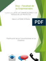 7- Planificaciòn - Comunicaciones