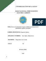 Procesos de tratamiento de aguas residualesSoto