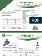 411250-252 R10 PE 350mbar COD 10000766
