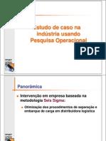 estudo de caso pesquisa operacional