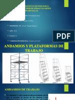ANDAMIOS Y PLATAFORMAS DE TRABAJO.pptx