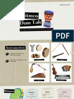 Ritmos e instrumentos árabes