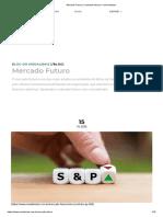 Mercado Futuro _ Contratos futuros e minicontratos