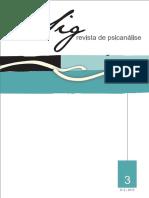 Revista Psicanalise Sig 3