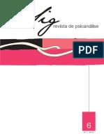 Revista Psicanalise Sig 6