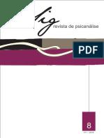 Revista Psicanalise Sig 8